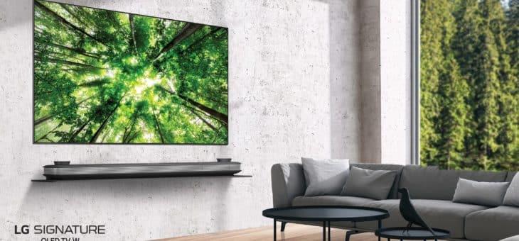 LG เปิดตัว OLED TV ซีรี่ส์ W8 วอลเปเปอร์ทีวีไร้ขอบบางเฉียบ